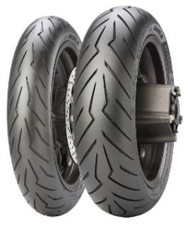 Pirelli DIABLO™ ROSSO SCOOTER TL FRONT Roller Sommerreifen -     (120/70 R15 56H)