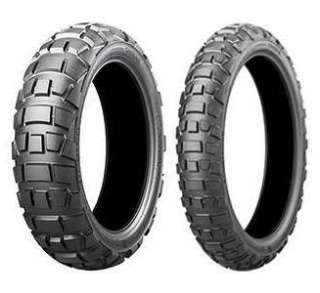 Motorrad-Enduro Bridgestone Battlax Adventurecross AX41TF L TL Front 90/90-21 54H